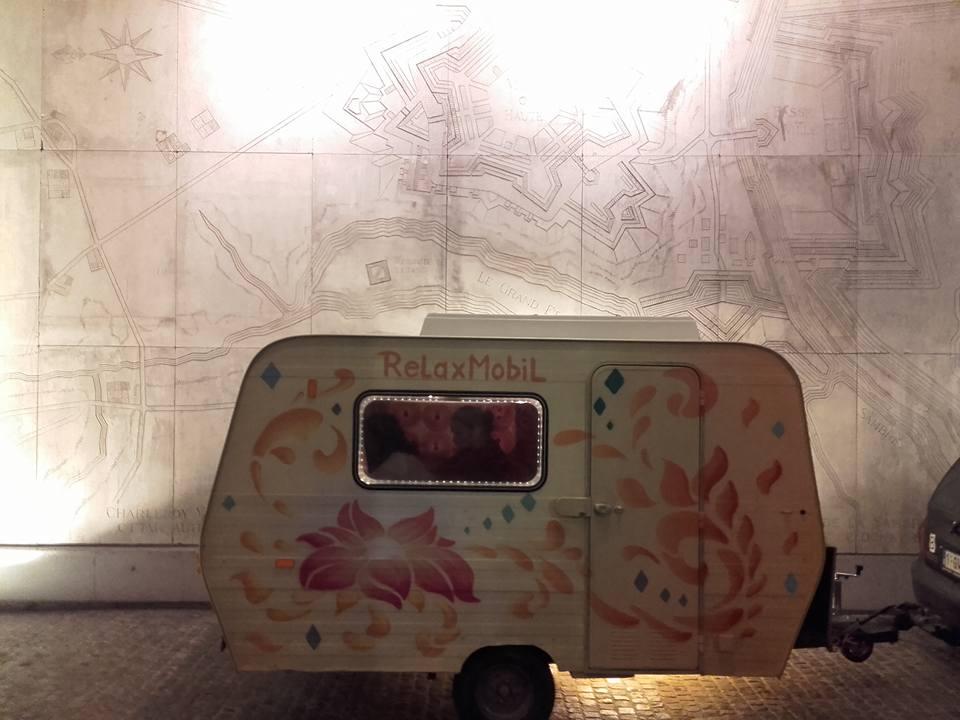 caravane fleurie
