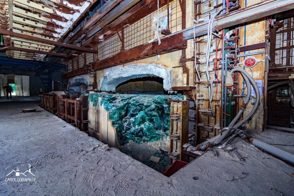 Verrerie Roux usine abandonnée