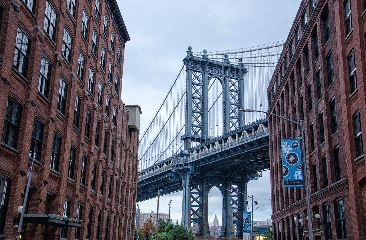 Brooklyn New-York Pont Rue