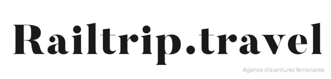 railtrip.travel ecrit en noir sur fond blanc